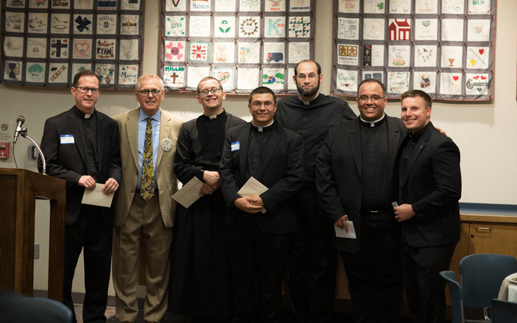 Serra USA at a function to support priests and seminarians.