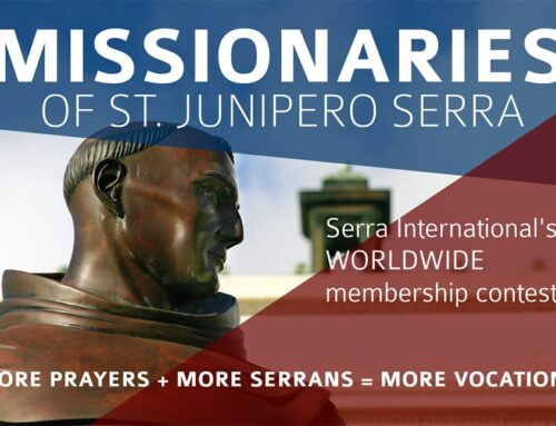 Register for the Missionaries of St. Junipero Serra Contest 2020-2021