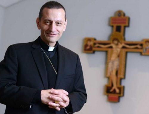 Serra Meets Bishop Frank J. Caggiano