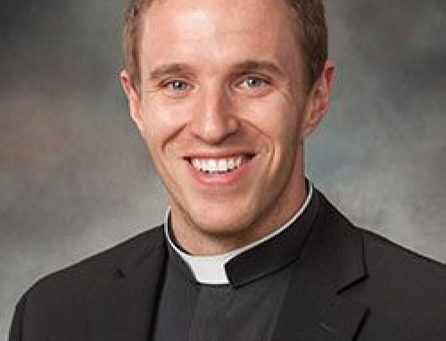 Serra Meets Fr. Edwin Leonard